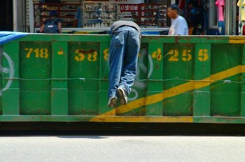 Freegans: The Refined Art of Dumpster Diving