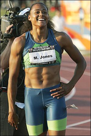 Nude pictures of marion jones