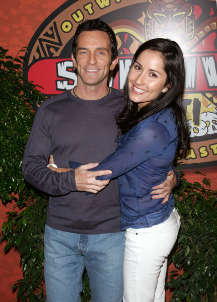who is jeff prost dating The survivor host and the 40-year-old mother of two tied the knot in los angeles on dec 5 jeff probst has snuffed the torch on his single life the 50-year-old host of cbs' survivor.