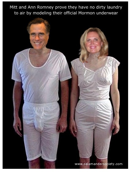 Mitt Romney magic underware