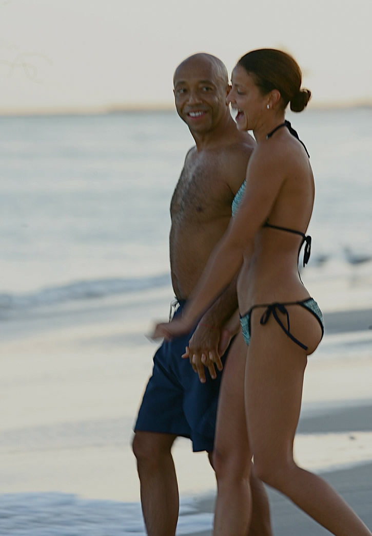 russell simmons dating history