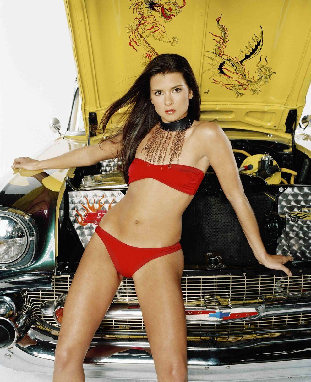Danica patrick showing her boobs — img 7