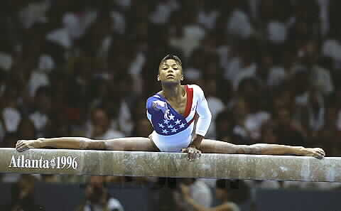 Dominique Dawes was better in her second Olympics than her first.